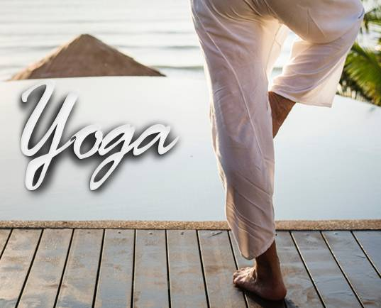We now offer yoga